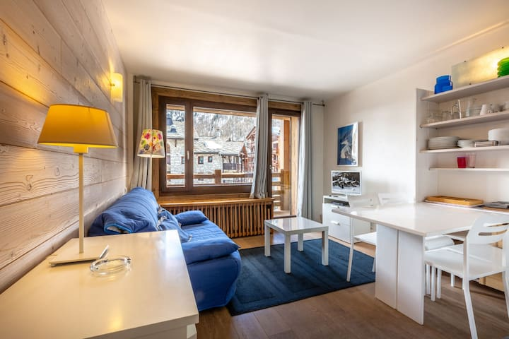 Nicely renovated studio near the slopes