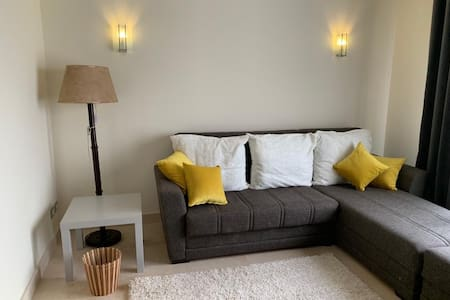 Semi furnished studio in palm hills