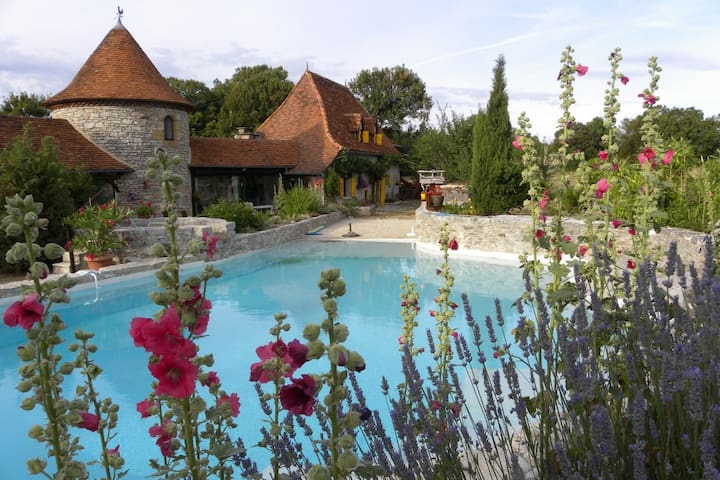 La Cazelle - Mas de Bouzou - Heated pool - Grèzes - Ev
