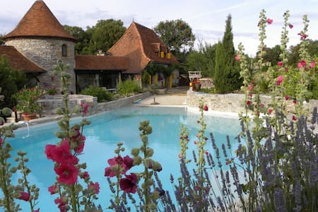 Charming cottage  4/5 persons - Mas de Bouzou - Huis