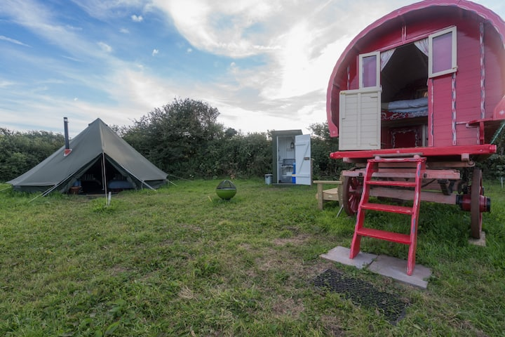 *Gypsy Caravan *Bell Tent *Secluded
