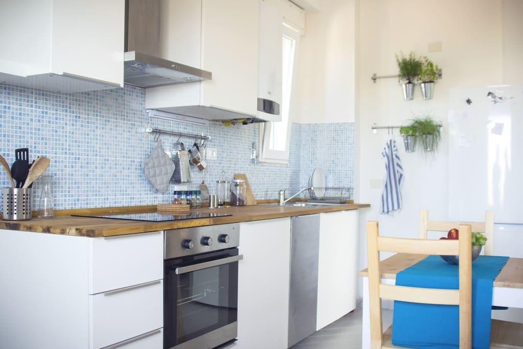 La sala/cucina
