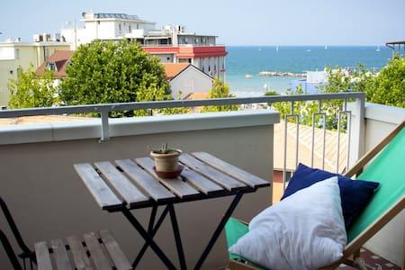 Appartamento moderno con vista mare - Bellaria Igea Marina - Daire