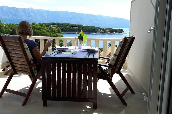 Apartment Foldyna Island Brač ,2 people