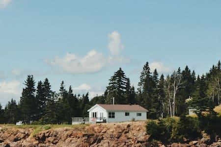 Oceanfront Cottage - Paradise Point - Letang - Srub