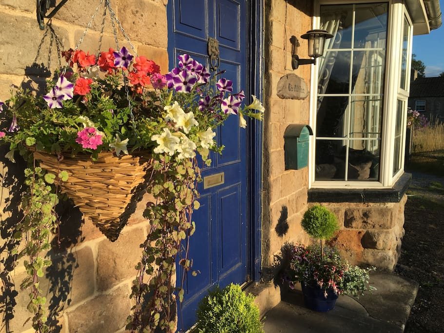 Front door to The Old Inn