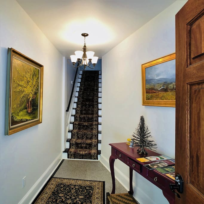 Foyer and Entrance Stair