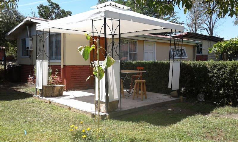 Cabaña rustica equipada 4 personas Quillón