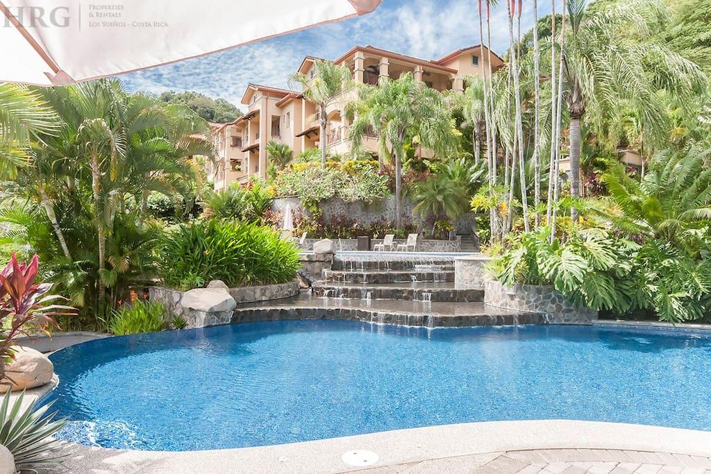 Marbella condominium complex.