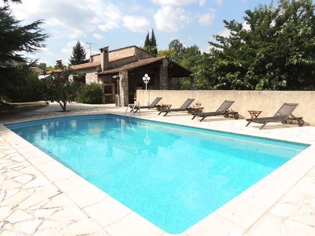 Provençal Villa with heated pool - Fayence - Casa de camp