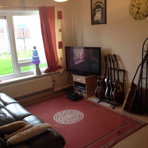 Nice ground floor bedroom flat - Salford - Apartment