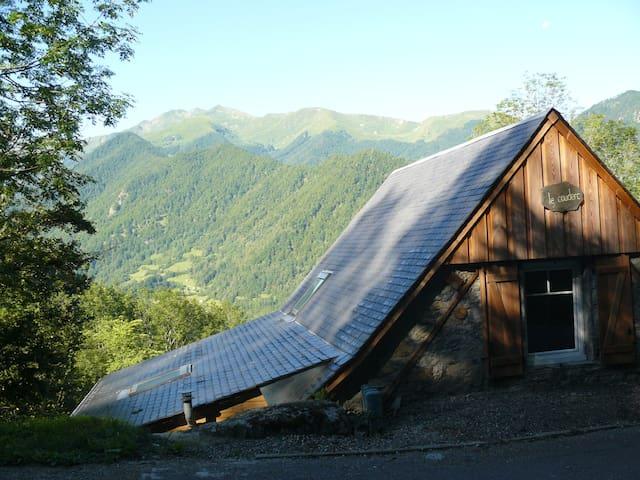 Grange de montagne plein sud (WiFi) - Ustou - House
