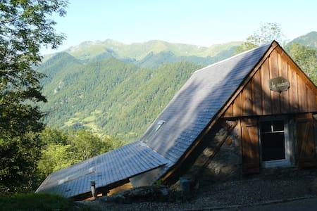 Grange montagne plein sud (WiFi) - Ustou