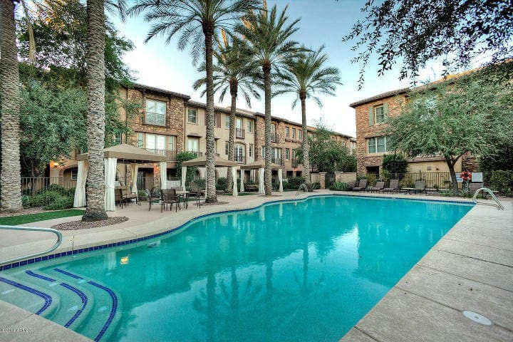 High end condo in gated community appartements en - Residence contemporaine yerger en arizona ...