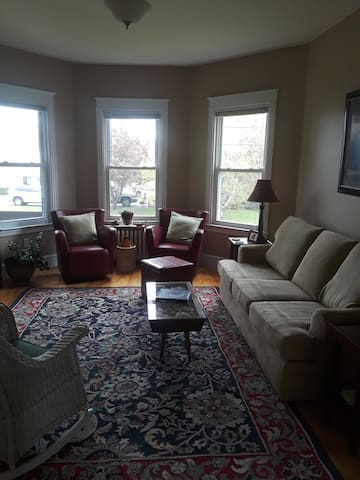 Spacious 1st floor New England charm.