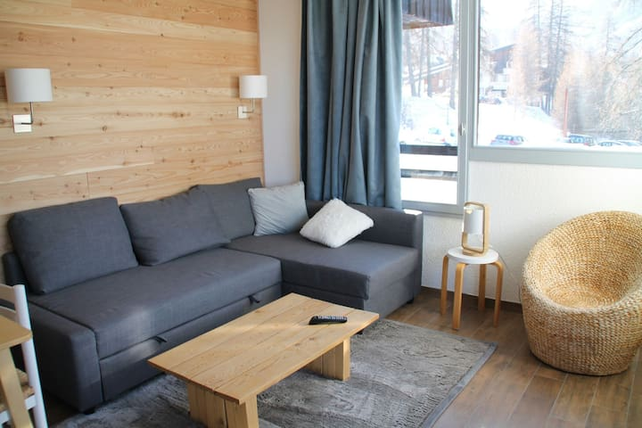 Appartement cosy station Les Orres  - Les Orres - Appartement