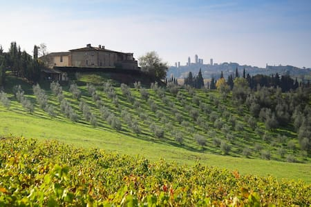 """Oleandro"" Room in San Gimignano - San Gimignano - Villa"