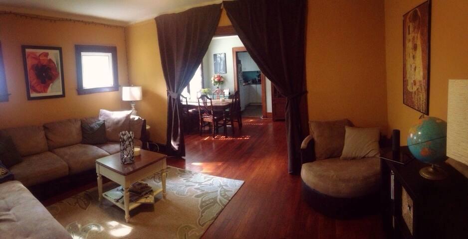 Cozy Room in Detroit -Ferndale Flat - Ferndale - Hus