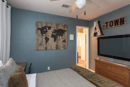 NW Charming A-town Bedroom - Austin - House