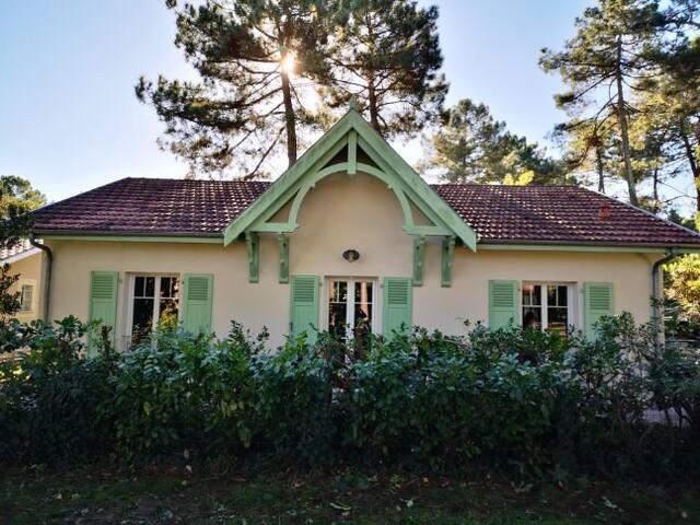 Maison agréable à Lacanau lac  La Grande Escoure