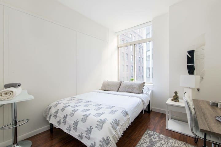 Airy and New one Bedroom Financial District - New York