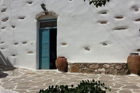 Traditional 1900 stone cottage-Lefkes Paros - Lefkes - Talo