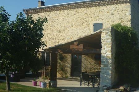 Chambre privée pour 2 personnes - Bonlieu-sur-Roubion - Ev