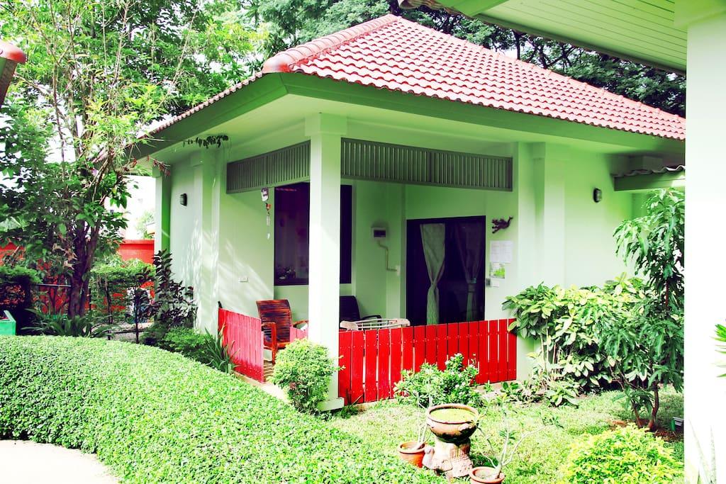 The entire villa