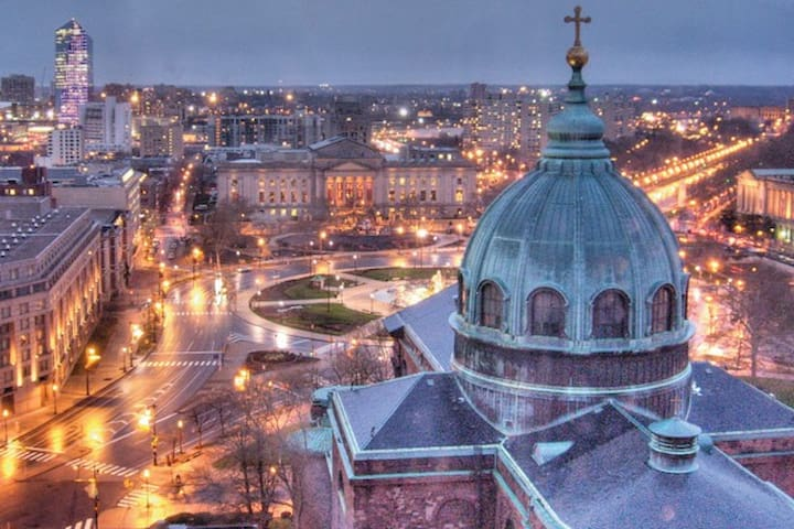Center City, steps to Papal Event! - Philadelphia - Bed & Breakfast