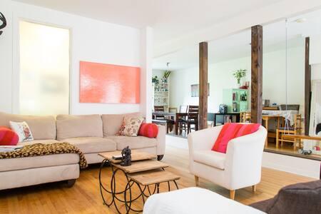 Superbe appartement sur 2 étages