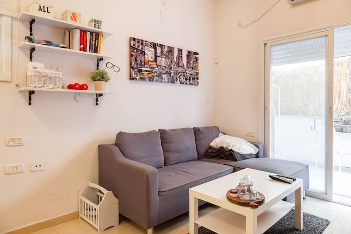 1bd apartment-center of Tel Aviv - Tel Aviv-Yafo - Appartamento
