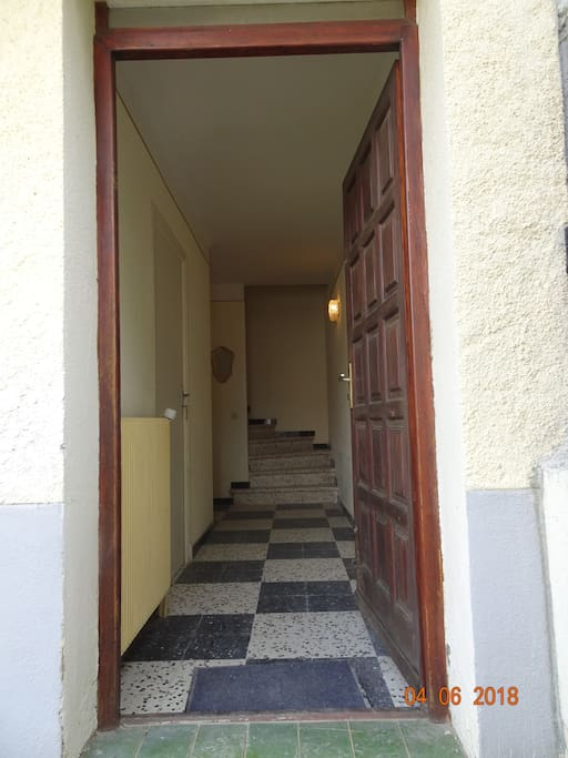 Entrée villa
