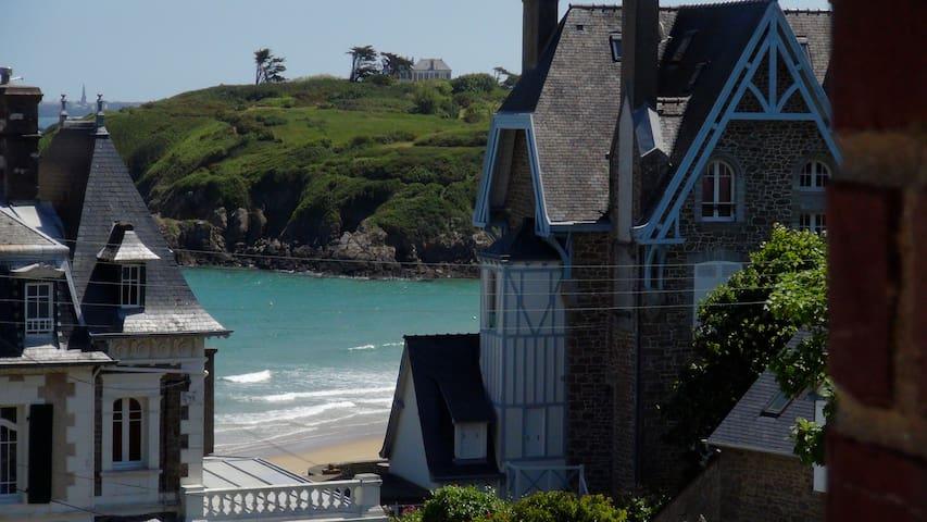 Appartement à 50m de la plage + piscine chauffée - Saint-Lunaire - Appartement