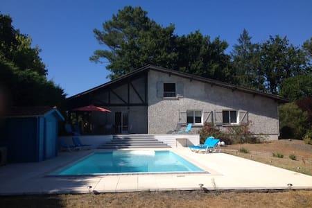 Villa rénovée - Piscine Chauffée - ラカノー