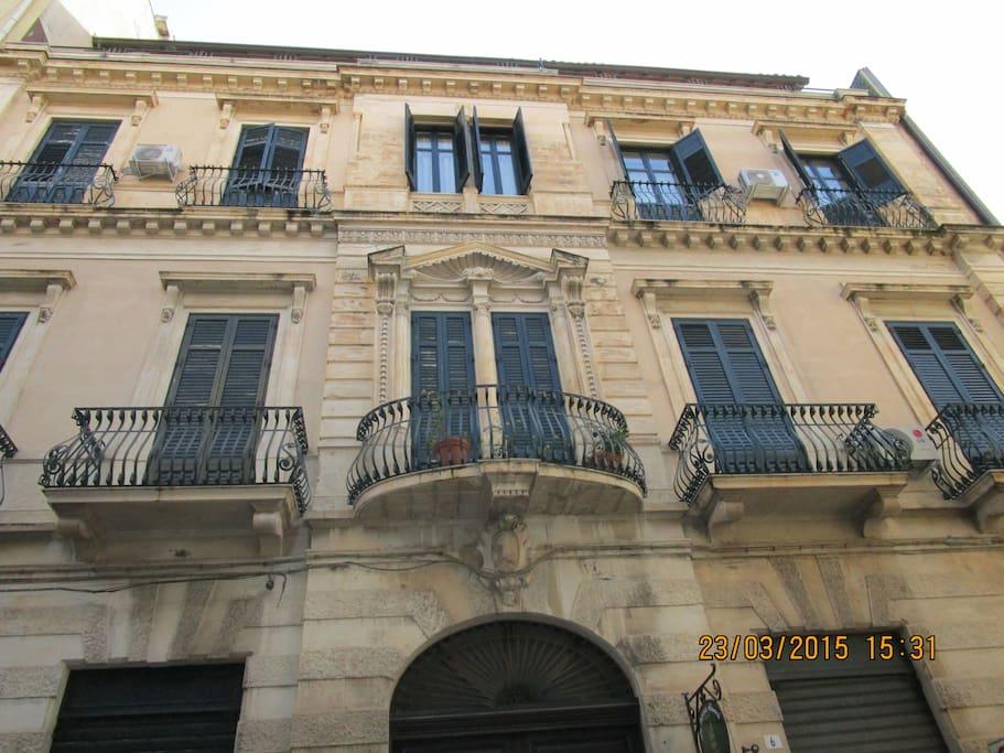 Ingresso principale del palazzo