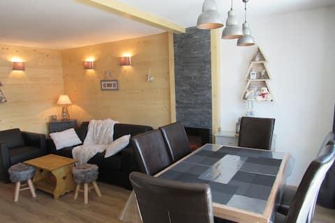 Apartament renovat de 40m² în inima ValThorens