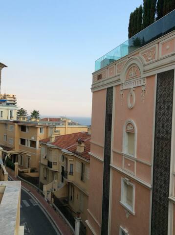 Climatisé, proche gare train Monaco - Beausoleil - Bed & Breakfast