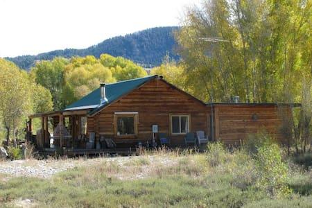 Rustic Retreat in Kelly Wyoming