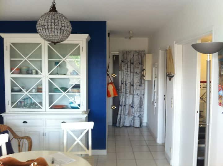 Cabourg appartement ensoleillé 50m mer - Wifi