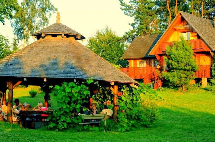 House in Kashuby 30km Gdansk - Nowa Wieś Przywidzka - Huis
