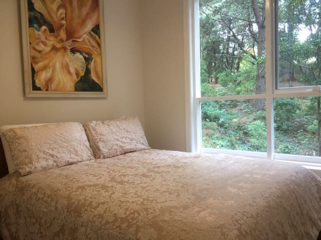 Cosy self-contained cottage in beautiful surrounds - Mount Helen - Srub