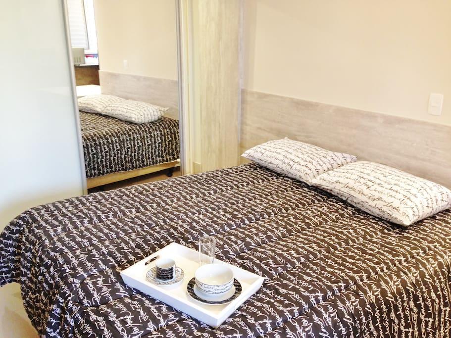 Cama box queen size - padrão hotelaria