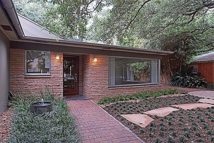 Zen Retreat in Houston's Museum District