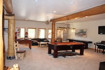 Pool table and foosball table