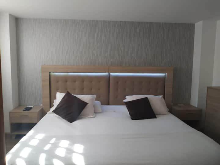 Habitación estándar en hotel Boutique Chía