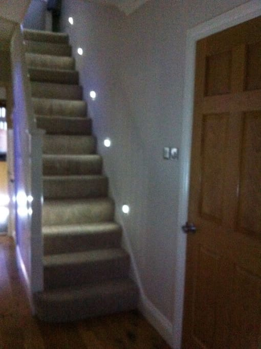 Hall & Stair case