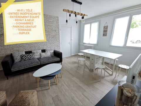 ☻L'IDEAL☻ cosy & cocooning near Fontainebleau