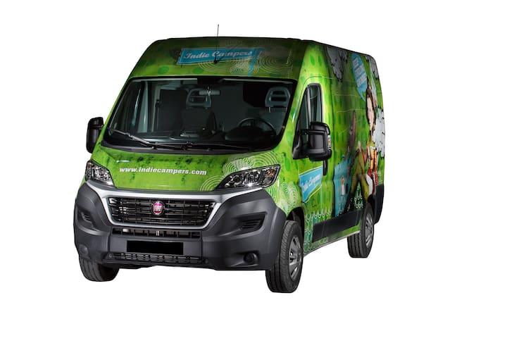 Active M Campervan - Lisbon - Bobadela - Wohnwagen/Wohnmobil