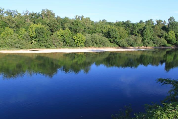 Paradis en bord de riviere d'ain - Charnoz-sur-Ain