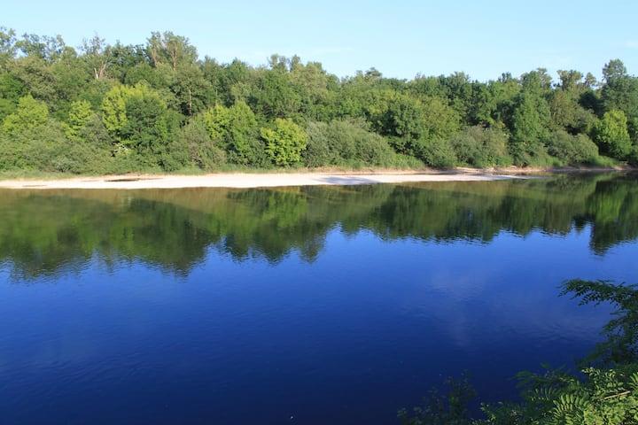 Paradis en bord de riviere d'ain